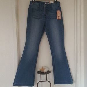 NWT Mudd Love, Peace , Happiness Jeans